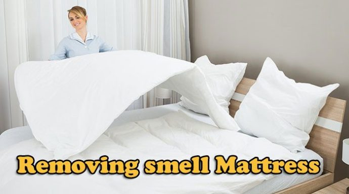 Removing smell Mattress