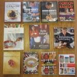 Modern secondhand cookbooks