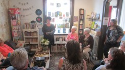 Julie Paul reading
