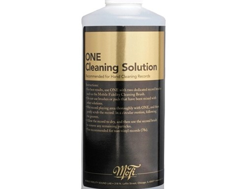 Mobile Fidelity – One Record Cleaning Fluid (16 Oz)