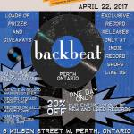 Record Store Day 2017 at Backbeat – April 22, 2017