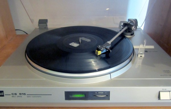 Dual CS 515 Turntable