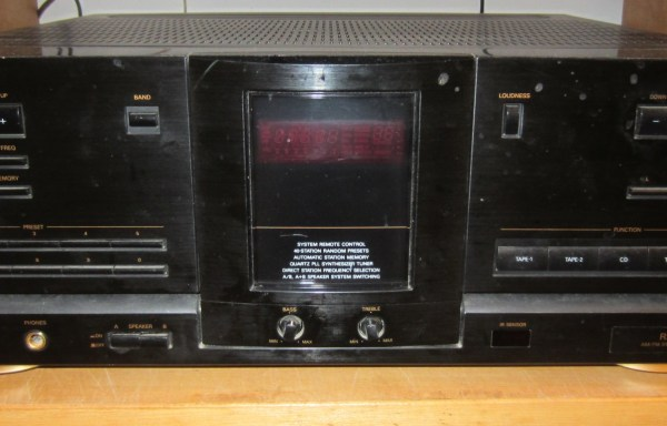 Fisher RS-717 Receiver
