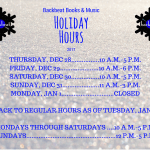 End-of-year hours