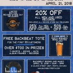 Record Store Day 2018 at Backbeat – All you need to know