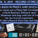 Come On Down… Record Store Day
