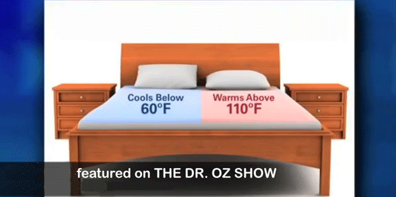 Chili Technology As Seen On Dr Oz Chilibed Cooling Or Heating Mattress Features