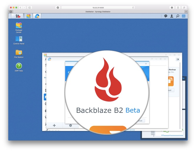 Cloud travel select backblaze b2 beta from the list of cloud providers fandeluxe Choice Image