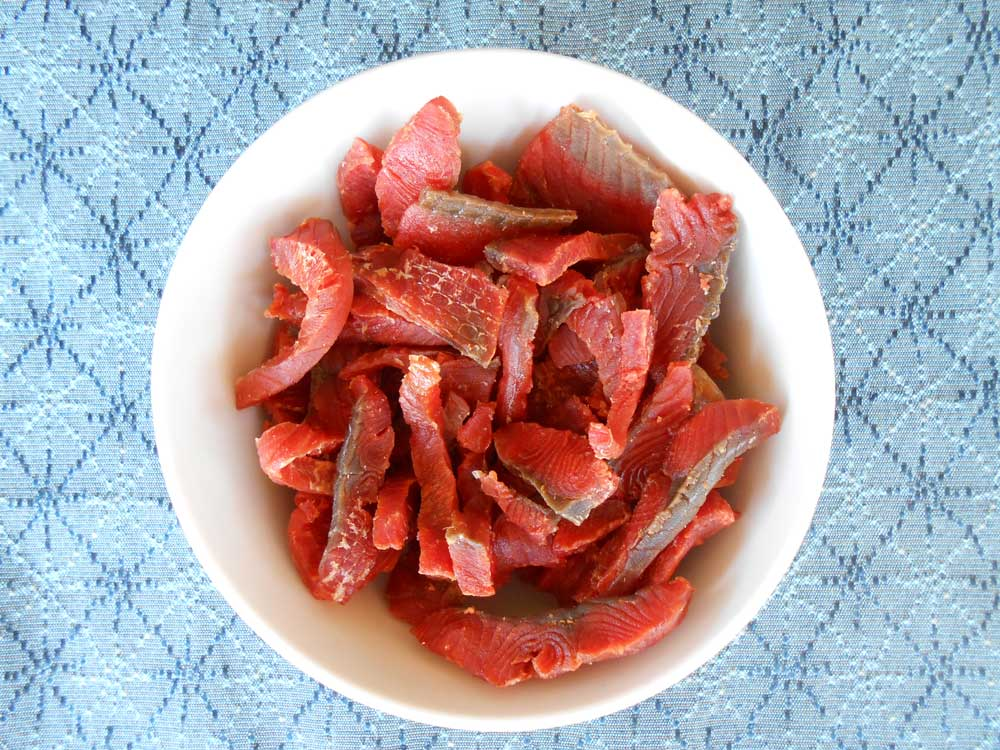 Tangy Salmon Jerky Backcountry Paleo