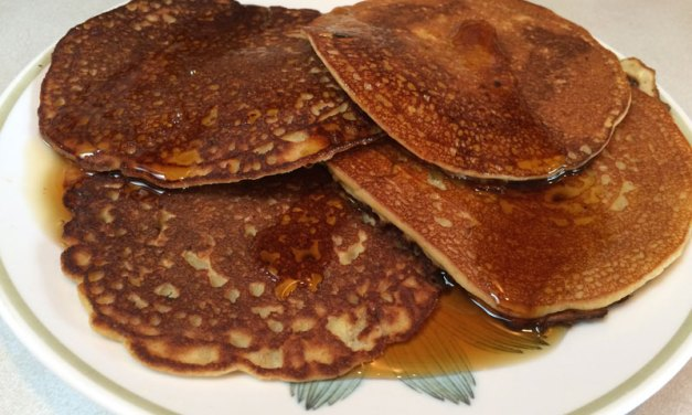 Plantain Coconut Pancakes for the Trail