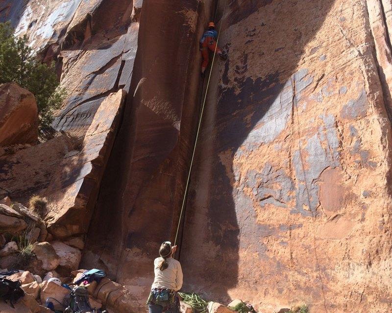 Indian Creek: Spring rock climbing in Utah: Part 1
