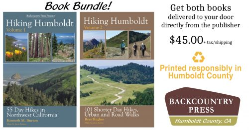 Hiking Humboldt book bundle