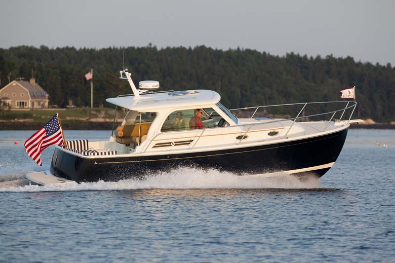 Images Of The Back Cove 30 Down East Motor Boat Built In Rockland Maine Back Cove Yachts