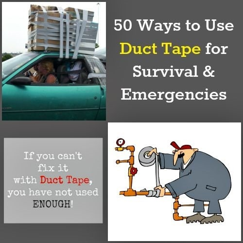50 Ways to Use Duct Tape for Survival | Backdoor Survival