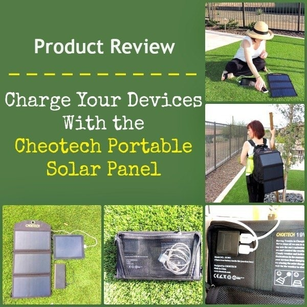 Charge Your Devices With the Cheotech Portable Solar Panel | Backdoor Survival
