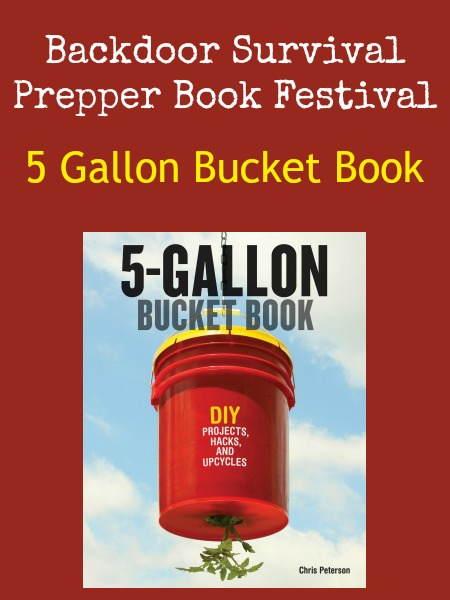 5 Gallon Bucket Book | Backdoor Survival