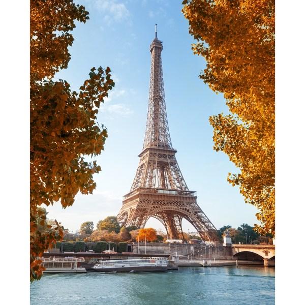 Paris in Fall Printed Backdrop | Backdrop Express