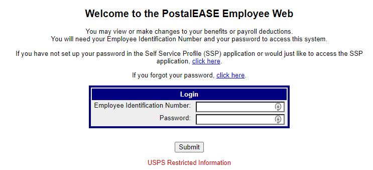 postaliease employee web