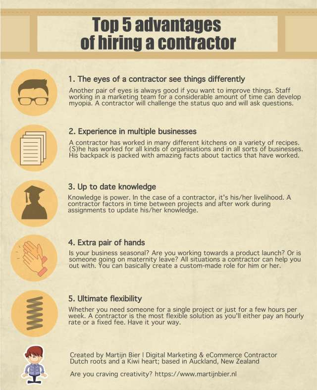 info4 - The 5 main benefits of hiring a contractor