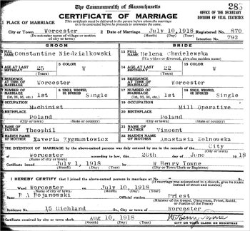 how to locate marriage records
