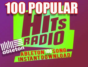 RADIO-HITS-100 SONG-ABLETON-Instant-Download