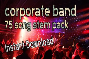 corporate band Backing Tracks