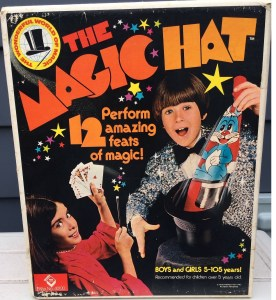 Original box for 1970's toy.