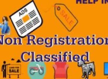 Non Registration Classified Websites List 2019