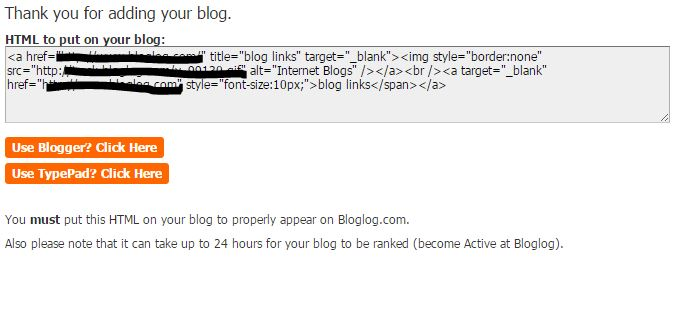 Simple way to submit blog