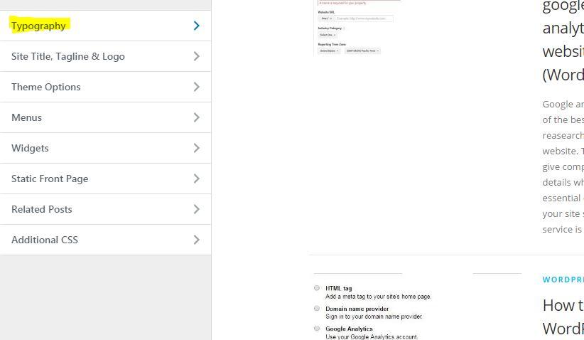 google font change