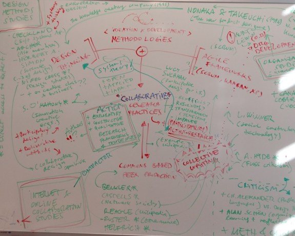 Some of the first conceptual frameworks for the project
