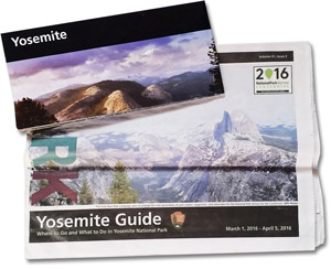 Propectus de Yosemite