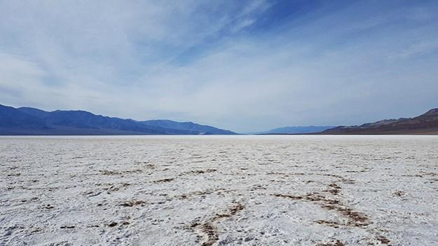 Le lac de sel de Badwater