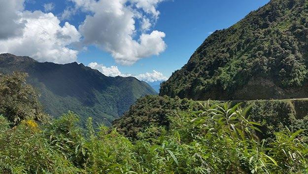 La route du Machu Picchu