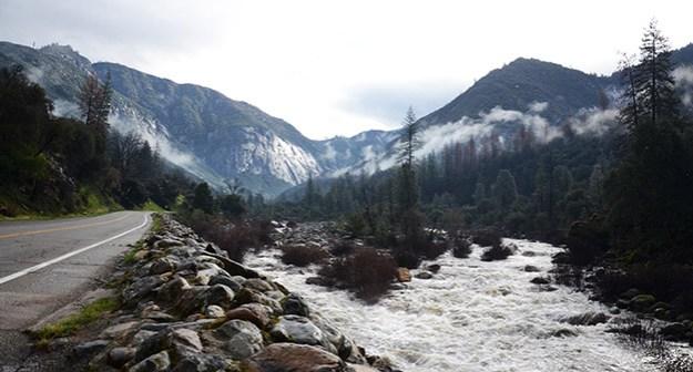 Arrivée à Yosemite Valley