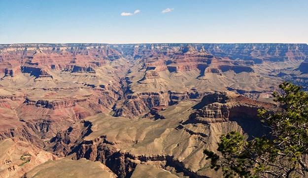 Vue Panoramique du Grand Canyon