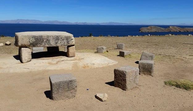 Naissance des Incas sur l'Isla del Sol