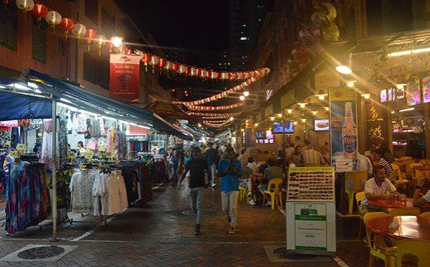 Shopping à Chinatown