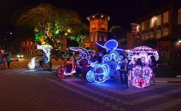 Les Psychedelic Trishaws de Malacca