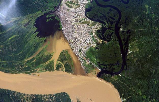 Iquitos vue du ciel