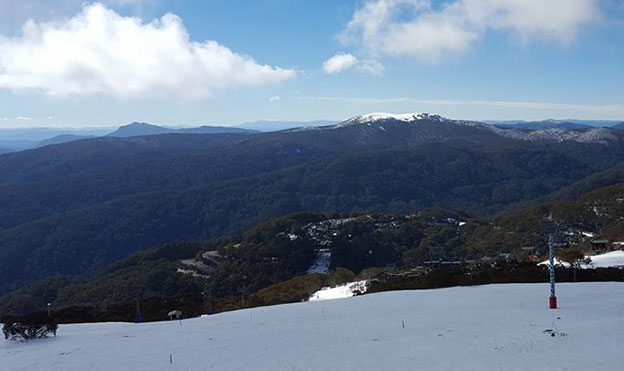 Du ski dans le Victoria et le New South Wales