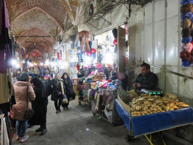 the bazaar is among the top things to do in tabriz
