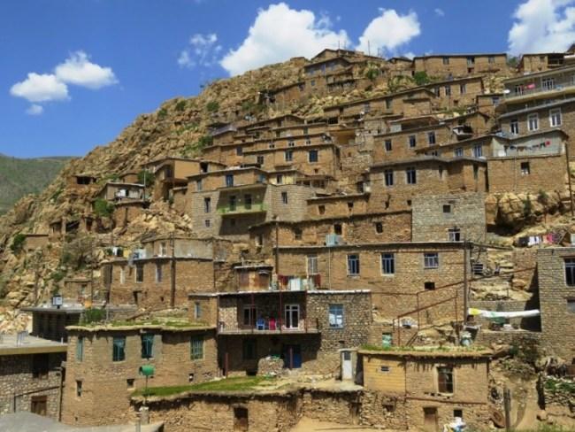 Palangan: a stepped village in Kurdistan Iran