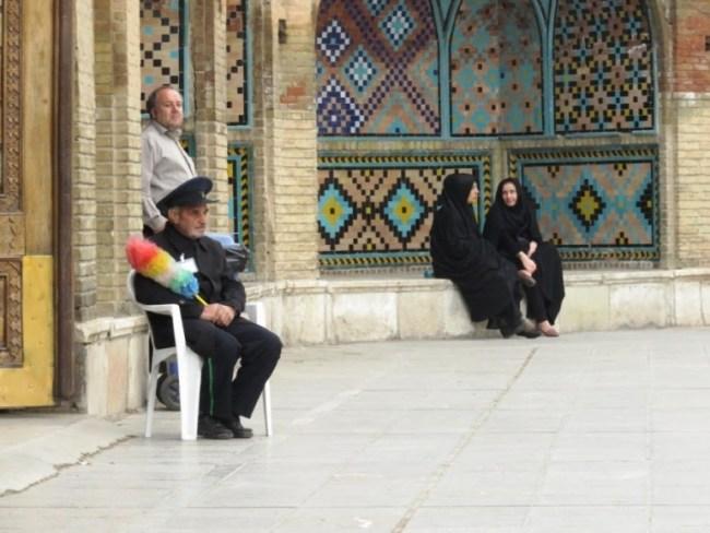 solo female travel in Iran