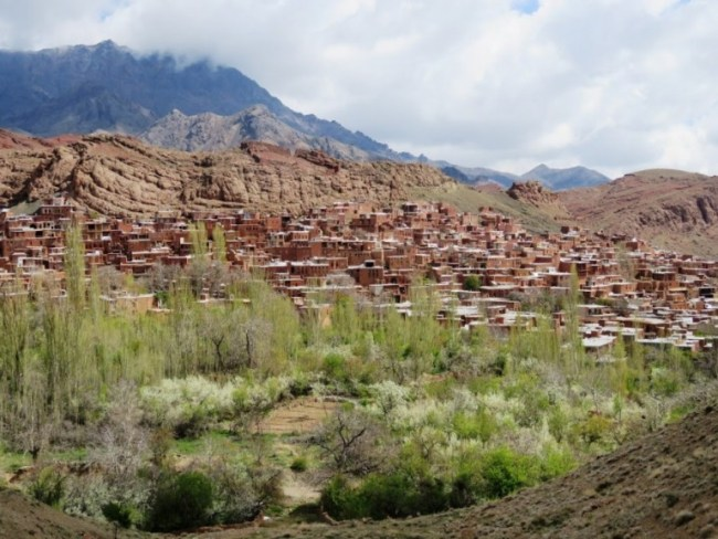 View on Abyaneh village