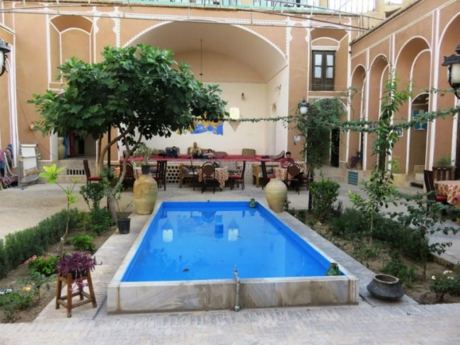 Orient hostel in Yazd