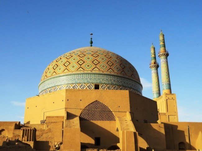 The old town of Yazd