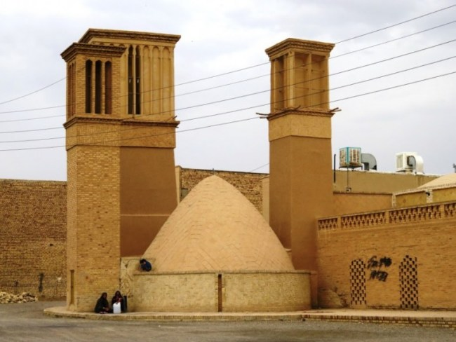 An ab anbar in the old town of Yazd