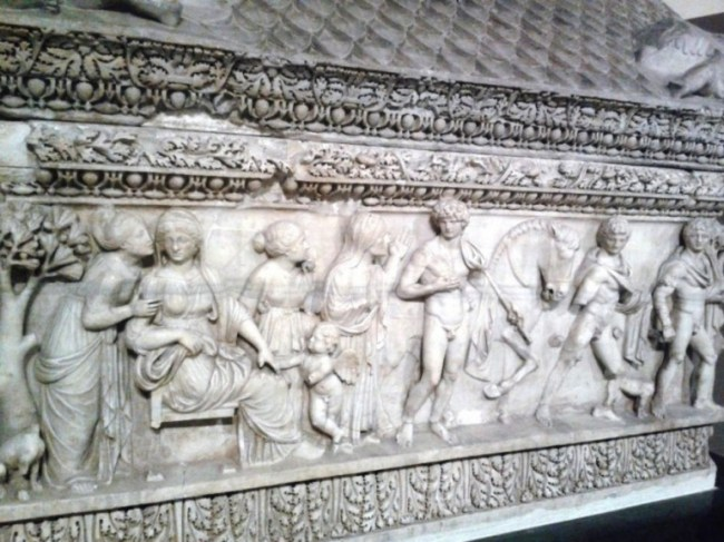 The archeological museum in Istanbul