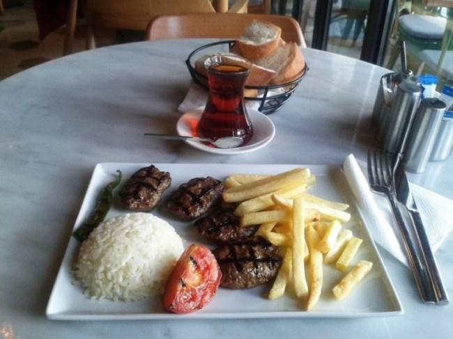 kebab in Istanbul